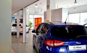 interni sede Concessionaria Ford Autosala ad Atena Lucana (SA)