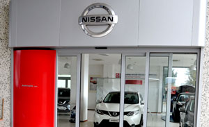 interni sede Concessionaria Nissan Autosala ad Atena Lucana (SA)