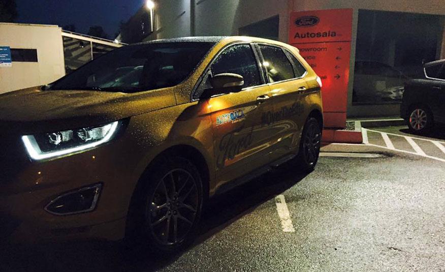 magazzino ricambi Concessionaria Ford Autosala ad Atena Lucana (SA)