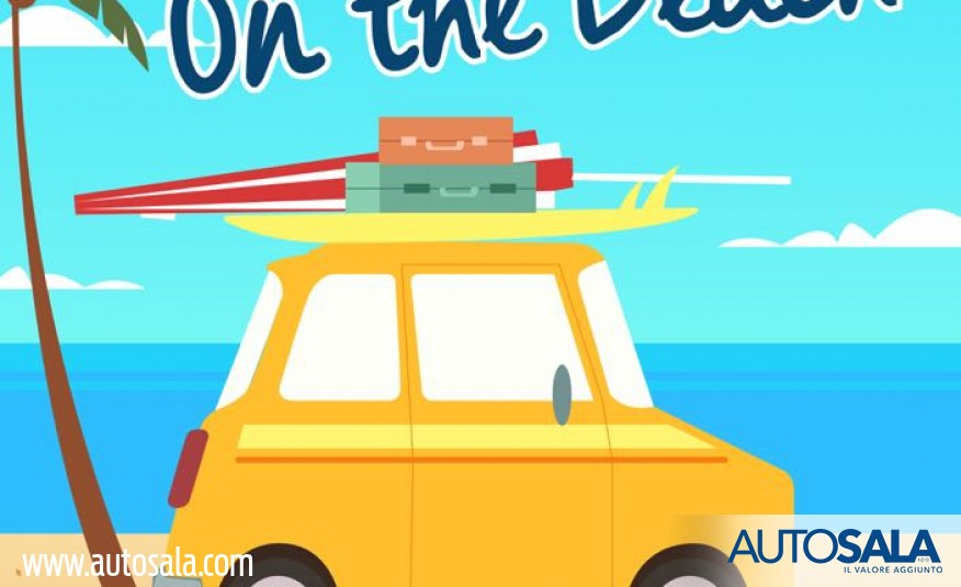 Autosala on the beach! La nuova Ford Fiesta e la nuova Nissan Micra sulle spiagge  del Cilento, Golfo di Policastro  e Maratea per tutta l'estate 2017.