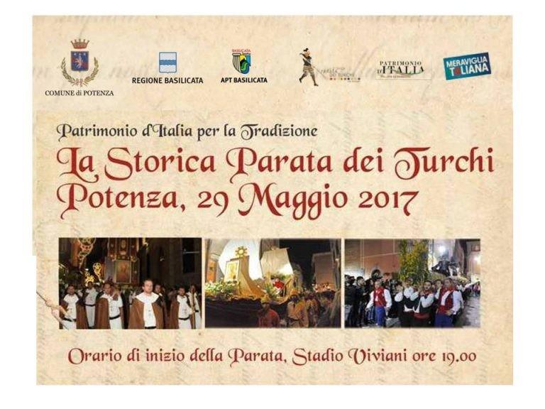 Autosala supporta le tradizioni e la Città di Potenza per la sua Storica Parata dei Turchi