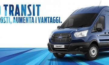 Ford Transit riduce i costi, aumenta i vantaggi. Prezzo bloccato fino al 30 giugno anche senza rottamazione.