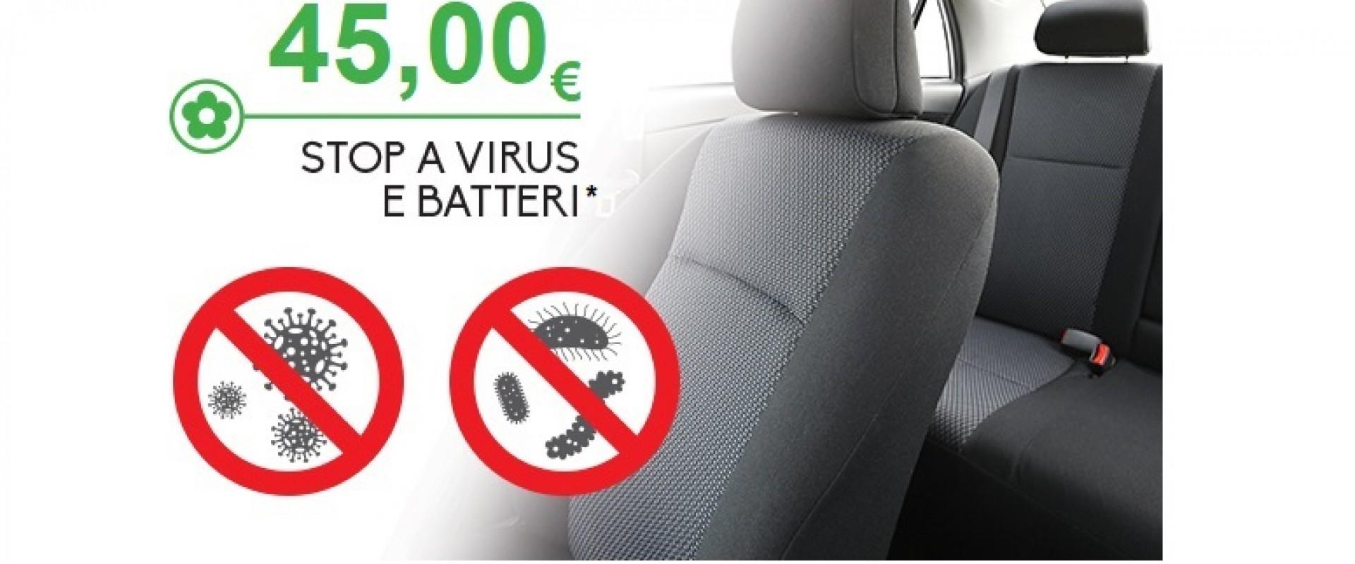 STOP A VIRUS E BATTERI