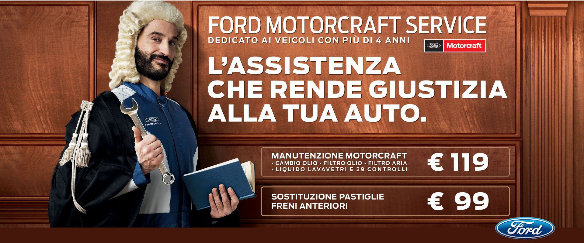 Ford Motorcraft Service: l'assistenza che rende giustizia alla tua auto