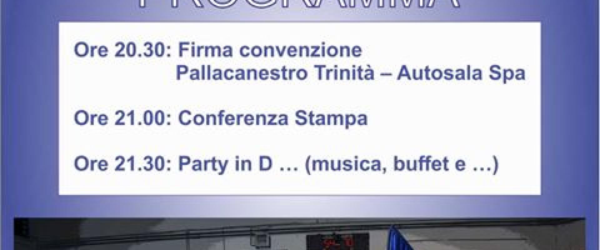 PARTY IN... D: dopo 19 anni la Diesel Tecnica Pallacanestro Trinità torna in serie D e festeggia con i suoi tifosi