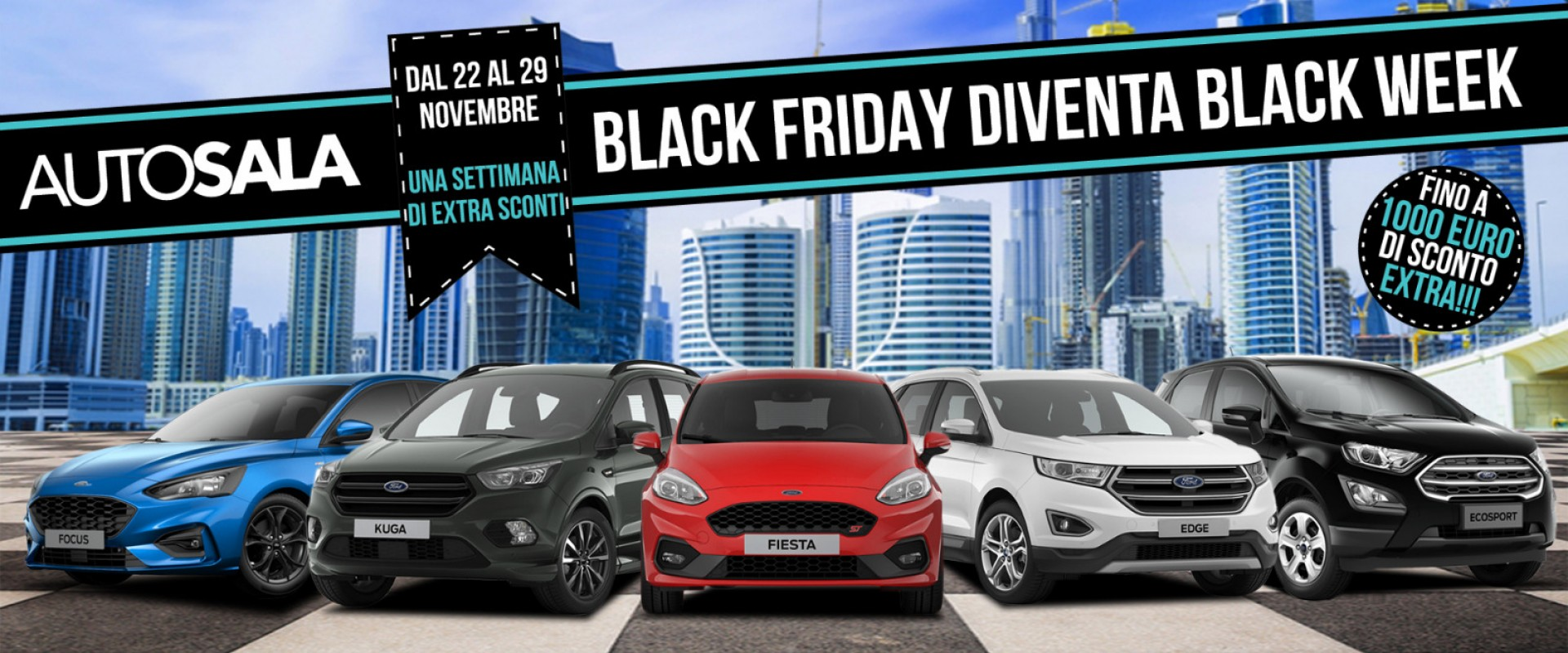 Black Friday diventa Black Week